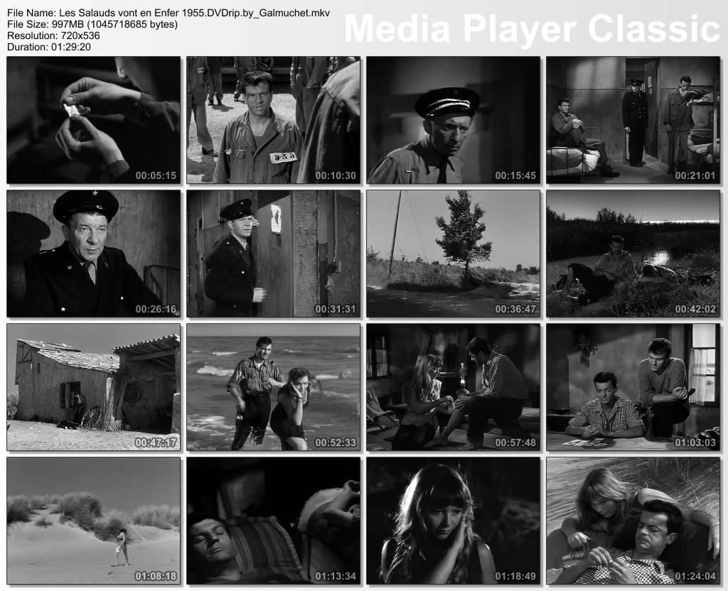 Les Salauds vont en Enfer (1955)