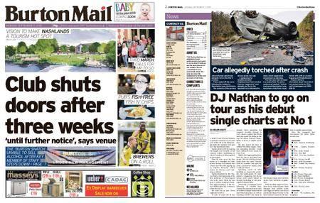 Burton Mail – September 17, 2018