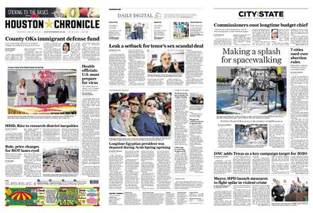 Houston Chronicle – February 26, 2020