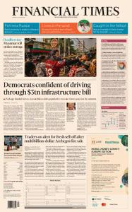 Financial Times Asia - March 29, 2021