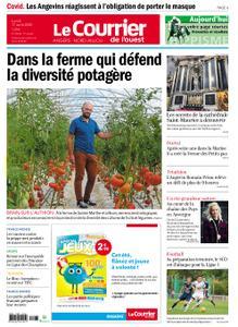 Le Courrier de l'Ouest Angers – 17 août 2020