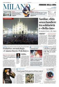 Corriere della Sera Milano – 02 dicembre 2019