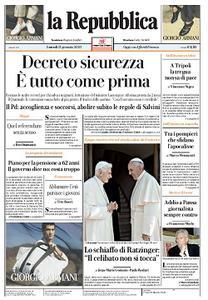 la Repubblica - 13 Gennaio 2020