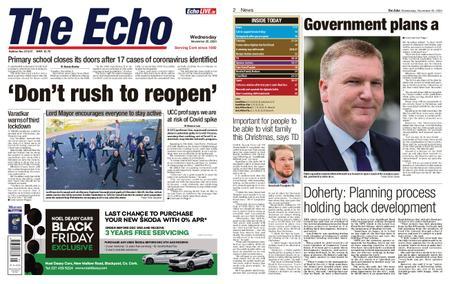 Evening Echo – November 25, 2020