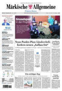 Märkische Allgemeine Prignitz Kurier - 01. November 2017