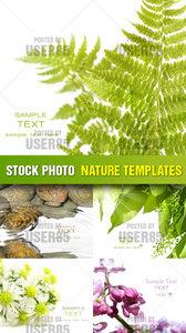 Stock Photo - Nature Templates