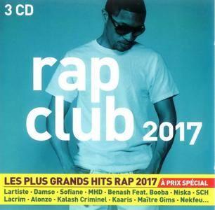 VA - Rap Clubs 2017 (2017) (3CD Box Set) {MCA}