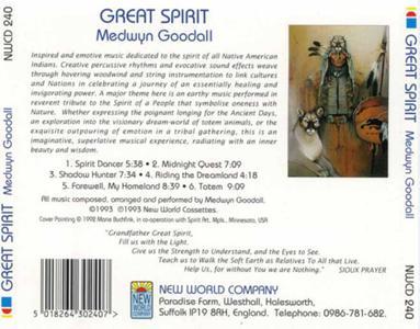 Medwyn Goodall - Great Spirit - 1993