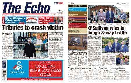 Evening Echo – August 02, 2019