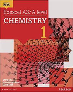 Edexcel AS/A Level Chemistry: Student Book 1 + ActiveBook