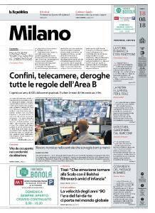 la Repubblica Milano - 18 Agosto 2018