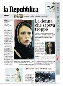 la Repubblica - 17 Marzo 2019