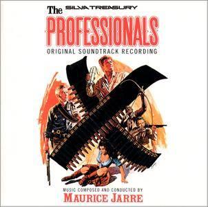 Maurice Jarre - The Professionals: Original Soundtrack Recording (1966) Reissue 1992