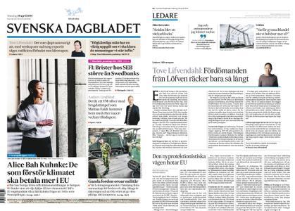 Svenska Dagbladet – 29 april 2019