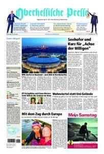 Oberhessische Presse Marburg/Ostkreis - 14. Juni 2018