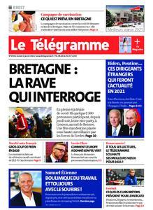 Le Télégramme Brest Abers Iroise – 02 janvier 2021