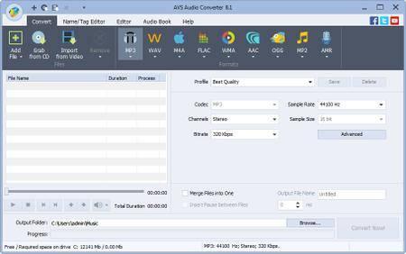 AVS Audio Converter 8.3.2.575