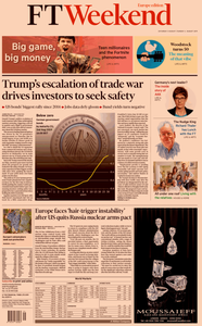 Financial Times Europe – 03 August 2019