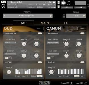 Sonuscore Origins Vol 4: Oud & Qanun KONTAKT