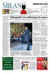 Corriere della Sera Milano – 12 gennaio 2019