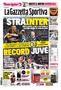 La Gazzetta dello Sport Roma – 04 novembre 2018
