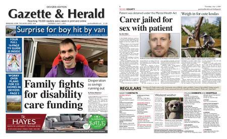 Gazette & Herald – July 01, 2021