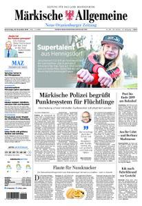 Neue Oranienburger Zeitung - 29. November 2018