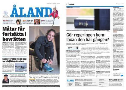 Ålandstidningen – 19 januari 2018