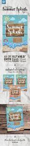 GR - Summer Splash Beach Party Flyer 15724895