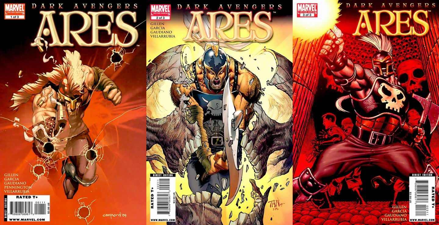 Dark Avengers: Ares #1-3 (Of 3) Complete