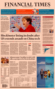 Financial Times Europe – 09 October 2019
