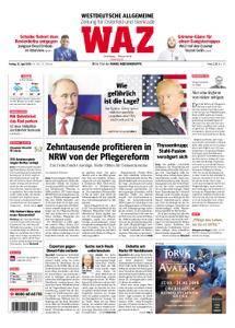 WAZ Westdeutsche Allgemeine Zeitung Oberhausen-Sterkrade - 13. April 2018