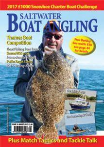 Saltwater Boat Angling - August 2017