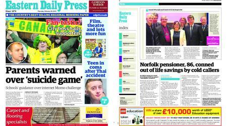 Eastern Daily Press – February 28, 2019