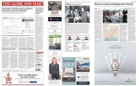 The Globe and Mail – August 31, 2017