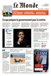 Le Monde du Samedi 4 Août 2018