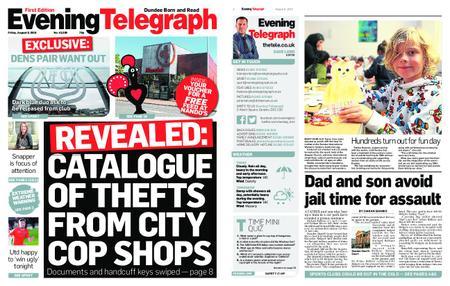 Evening Telegraph First Edition – August 09, 2019