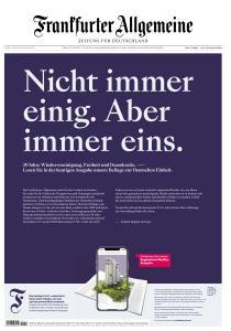 Frankfurter Allgemeine Zeitung - 2 Oktober 2020