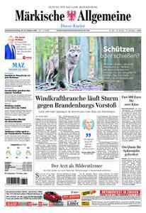 Märkische Allgemeine Dosse Kurier - 20. Oktober 2018