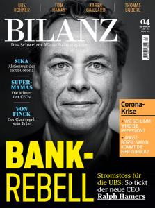 Bilanz - April 2020
