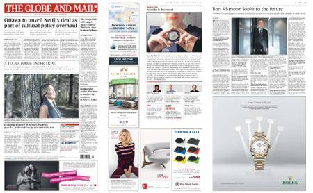 The Globe and Mail – September 28, 2017