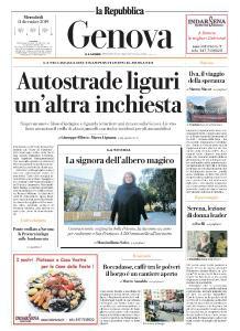 la Repubblica Genova - 11 Dicembre 2019
