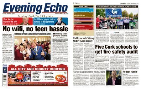 Evening Echo – September 28, 2017