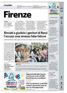 la Repubblica Firenze - 5 Settembre 2018