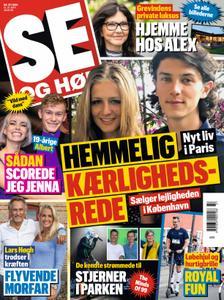 SE og HØR – 15. september 2021