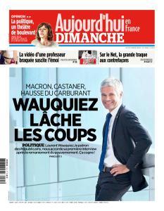 Aujourd'hui en France du Dimanche 21 Octobre 2018