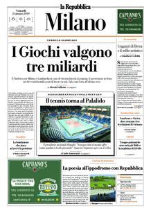 la Repubblica Milano – 21 giugno 2019
