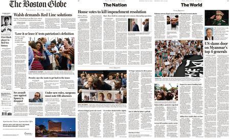 The Boston Globe – July 18, 2019