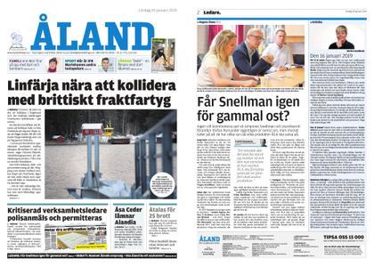 Ålandstidningen – 19 januari 2019