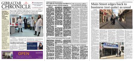 Gibraltar Chronicle – 14 May 2020